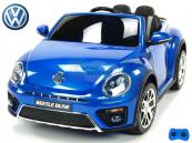 Elektrické auto VW Beetle Dune - Modrá metalíza