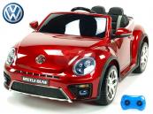 Elektrické auto VW Beetle Dune - Vínová metalíza