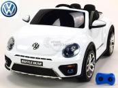 Elektrické auto VW Beetle Dune - Lakovaná Bílá
