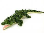 Krokodýl s otevřenou tlamou