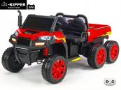 Elektrické auto Kipper s výklopnou korbou, 24V, 4x 200W, červené