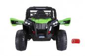 Elektrická Bugina Champion speed s 2,4G, jednomístná, 12V/2x120W, zelená