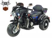 Elektrická tříkolka Big chopper Motorcycle, černý