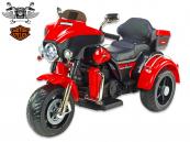 Elektrická tříkolka Big chopper Motorcycle, červený