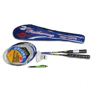 Rakety badmintonové 2 ks v obalu