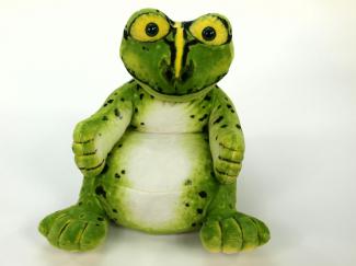 Plyšové křesílko Žába.jpg