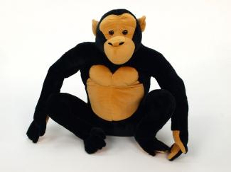 Plyšová gorila sedící.jpg