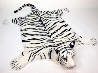 Plyšová předložka Tygr bílý XXL.jpg