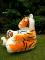 Plyšové křesílko Tygr oranžový-1