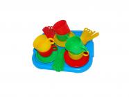 Dětská jídelní souprava Minutka pro 6 osob s tácem
