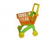 Dětský nákupní vozík na kolečkách