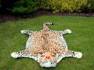 Plyšová předložka Leopard velikost L