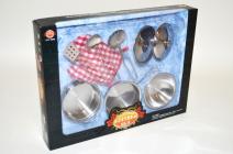Sada kovového nádobí