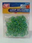 LOOP SELICONA - modrozelená 902