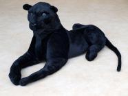Plyšový černý Panter