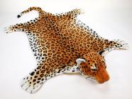 Plyšová předložka Leopard velikost XXL