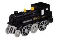 Maxim Elektrická lokomotiva černá