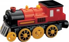 Maxim Elektrická lokomotiva červená