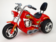 Elektrická motorka Chopper Red Hawk, 12V