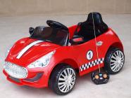 Elektrické autíčko s DO moderní červené