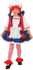 Hadrová panenka - dětský kostým