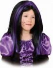 Paruka Witch fialový melír dětská - karneval