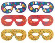Škraboška brýlová - karneval