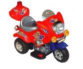 Elektrická silniční minimotorka-červená