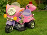 Elektrická silniční minimotorka-růžová