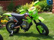 Elektrická motorka CROSSKA - zelená