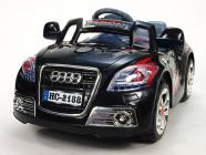 Elektrické auto sportovní cabrio TT s DO černé