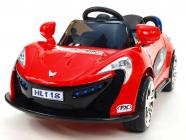 Elektrické auto Nikeautíčko s DO - červené