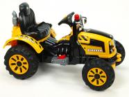 Elektrický traktor Kingdom - žlutý
