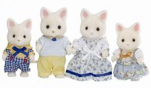 Rodina hedvábných koček