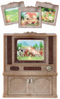 Nábytek - skříňka s barevnou televizí
