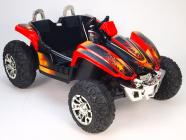 Elektrická Bugyna dvoumístná 12V červená