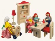 Nábytek pro panenky - jídelna - Bino