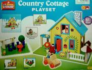 Dřevěný rodinný domeček