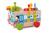 Montážní autobus s nářadím