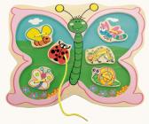 Šití Motýl na louce - Bino