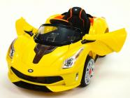 Elektrické auto Rallye Ferrato s DO žluté