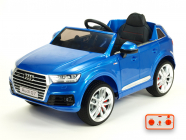 Elektrické auto Audi Q7 NEW S-line s 2,4G, modrá metalíza