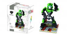 GEM Transformer Green Robot