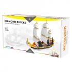 Particles Blocks-Sailing Ship
