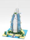 Diamond Blocks Burj-Al Arab Hotel