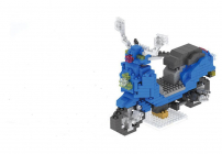 Particles Blocks-Motorcycle 046