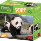 Puzzle Panda 3D 100 dílků