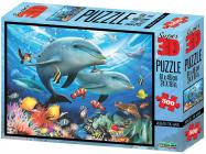 Puzzle Moře 3D 500 dílků