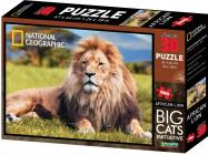 Puzzle Lev 3D 500 dílků