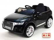 Elektrické auto Audi Q7 NEW S-line s 2,4G, černá matová